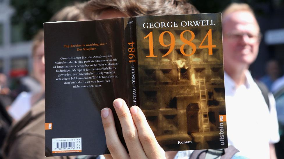 """La portada de """"1984"""""""