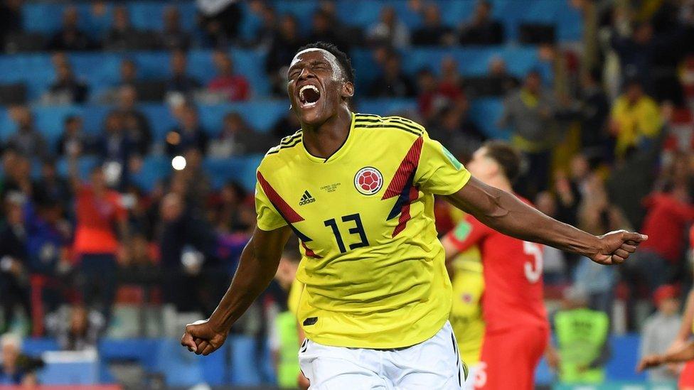 Mina marcó la mitad de los goles de Colombia en el Mundial.
