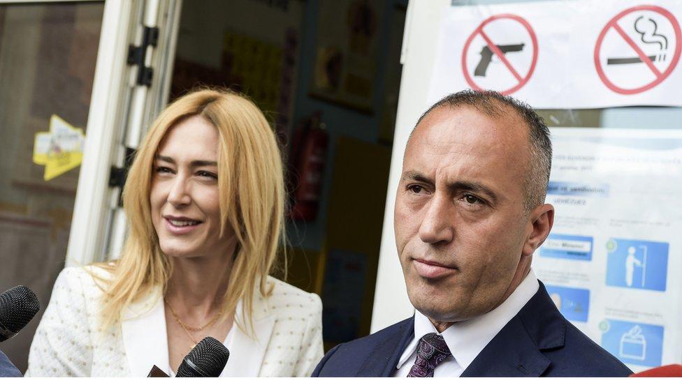 Anita Mučaj Haradinaj i Ramuš Haradinaj