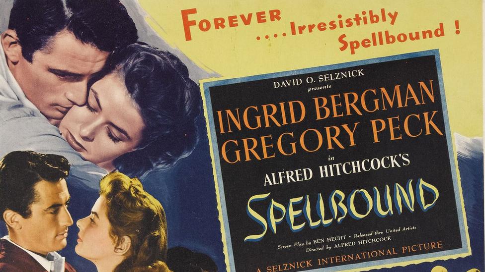 """Afiche de la película """"Spellbound"""""""