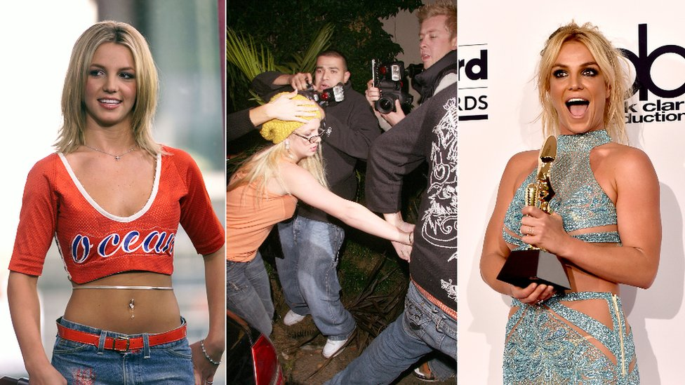 Britney through the years