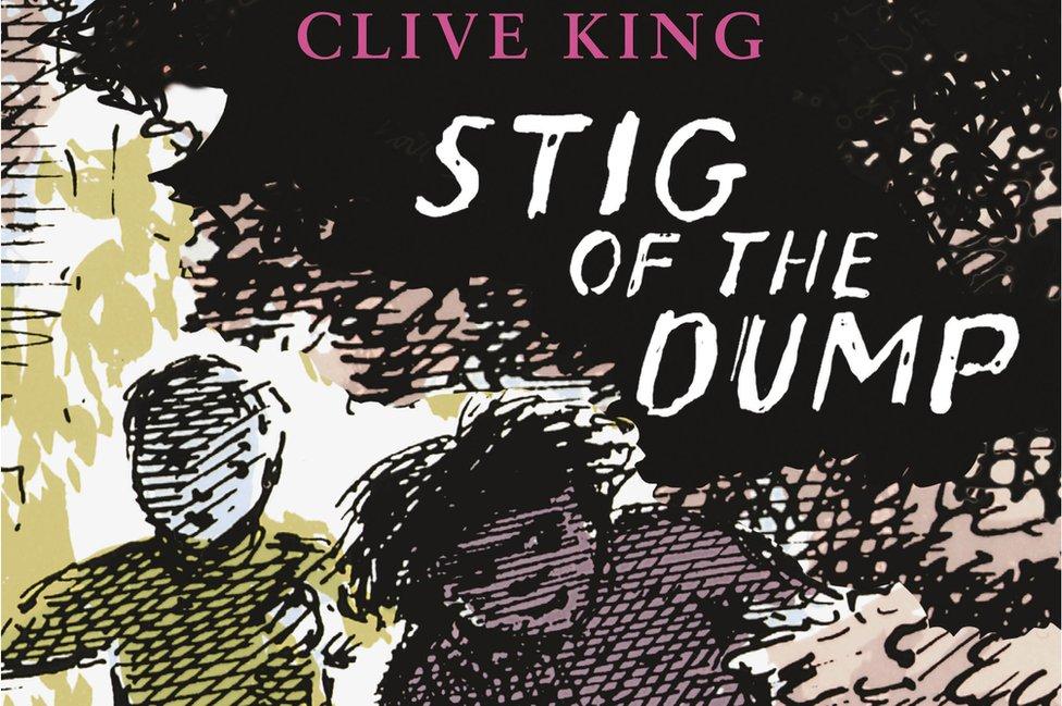 Stig of the Dump book jacket