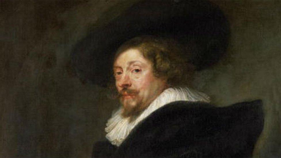 Peter Paul Rubens' self portrait