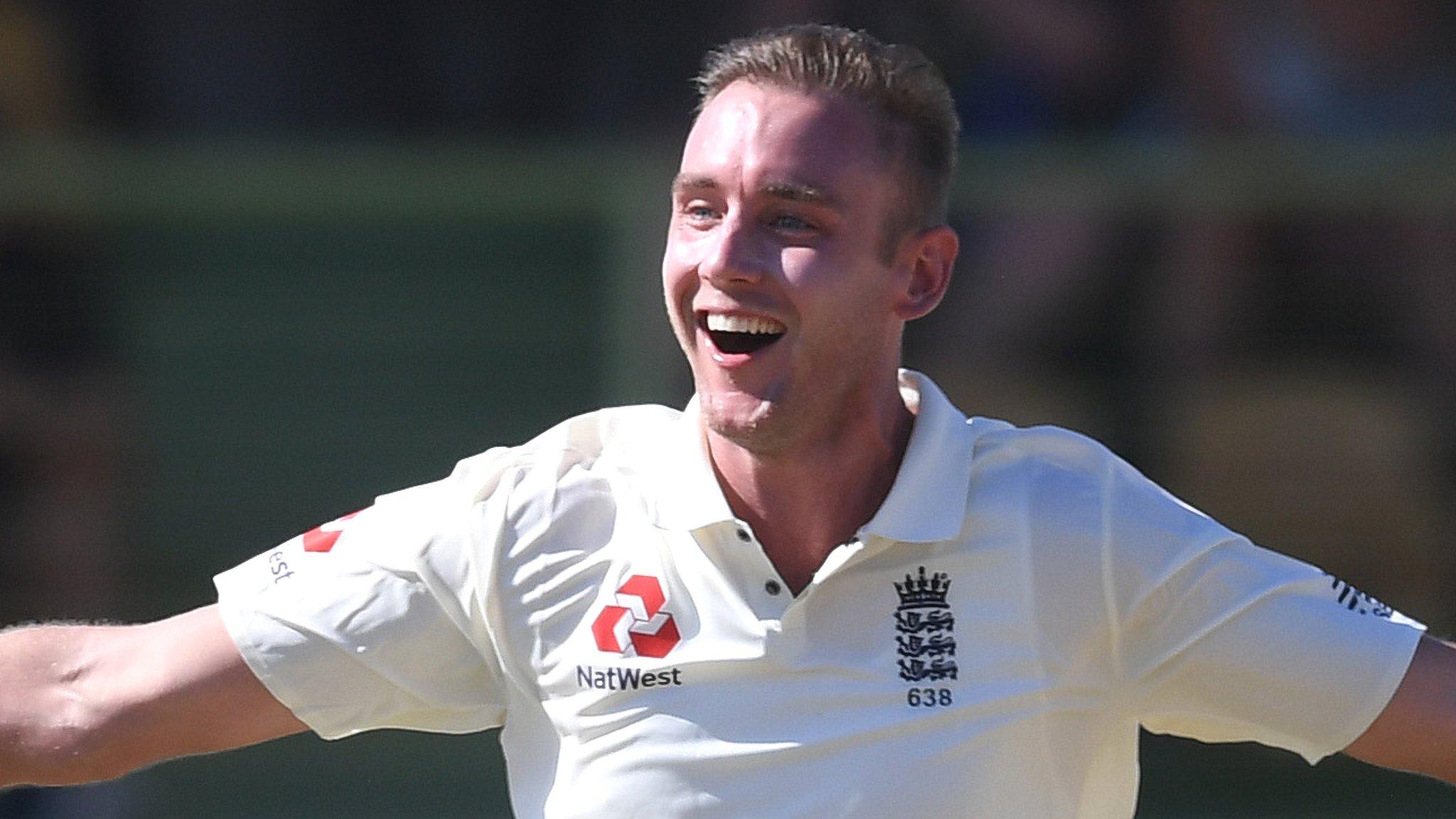 Stuart Broad: England bowler to captain MCC against Surrey