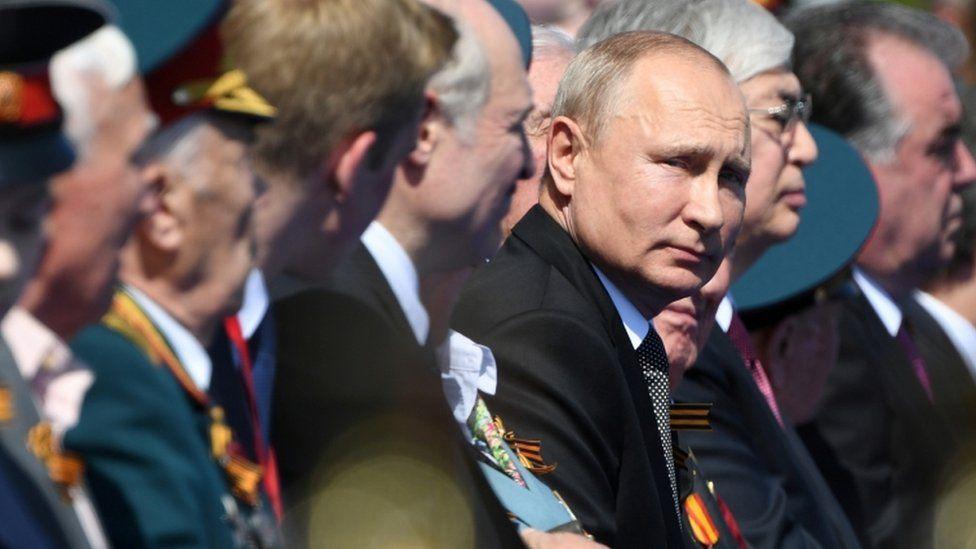 Vladimir Putin en un acto