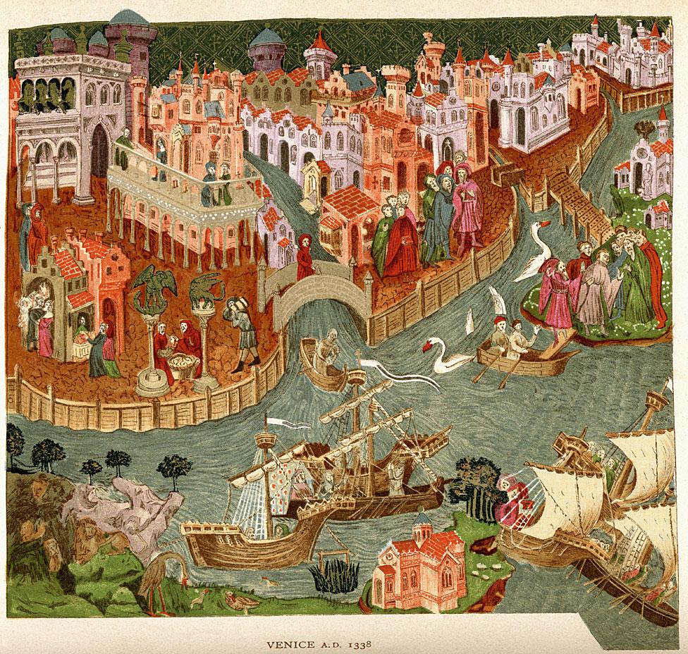 Venecia en 1338