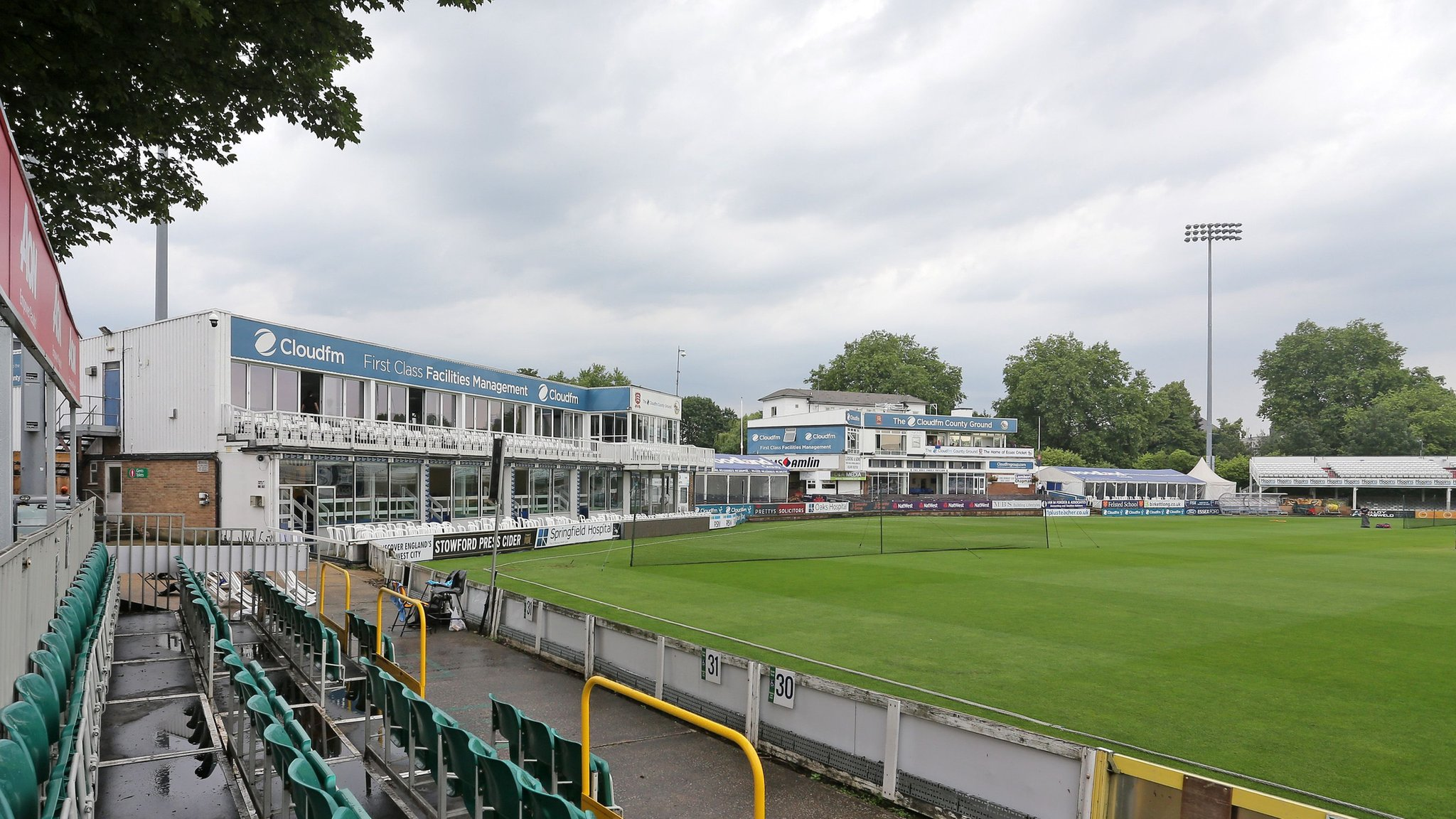 Essex and Warwickshire to switch Championship fixtures following Worcester flood