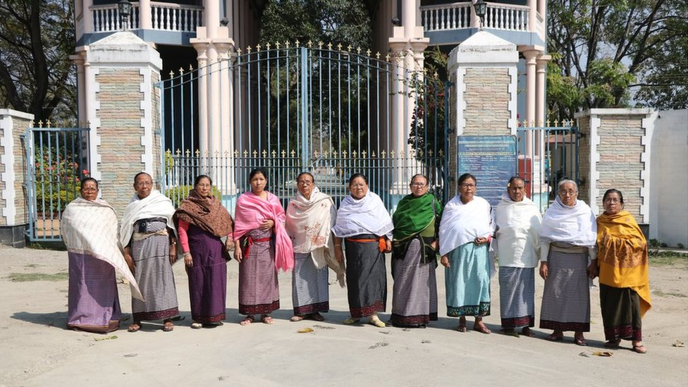 The mothers revisit the Kangla Fort