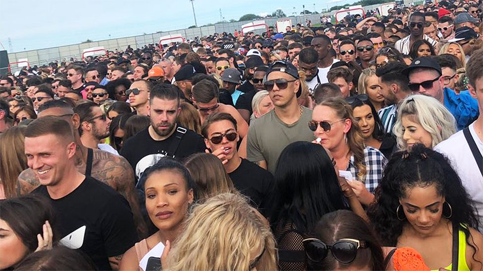 We Are FSTVL: People 'collapse' after hours of queues at the gates