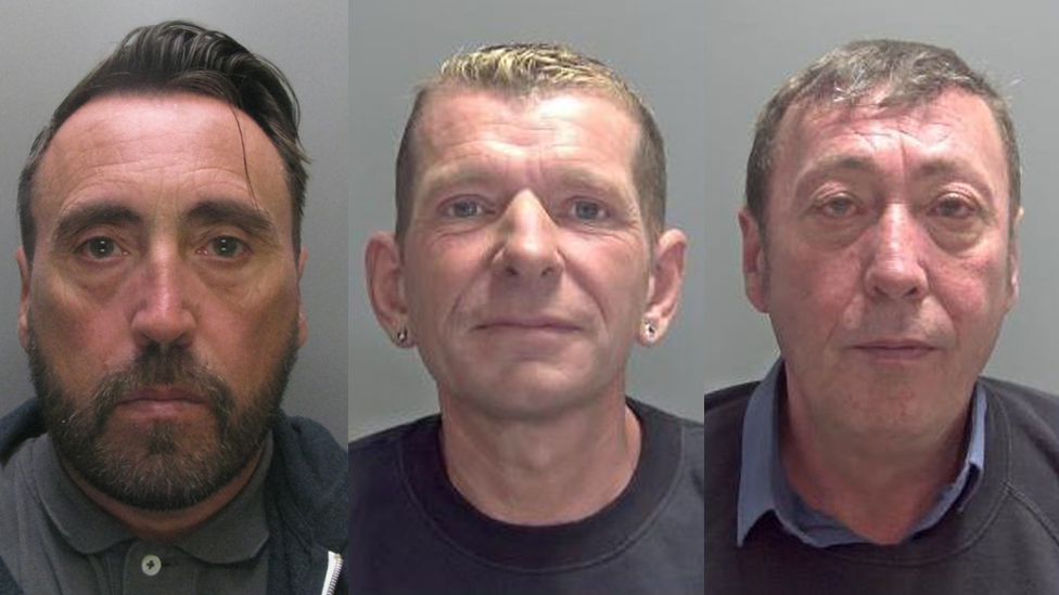 Family gang jailed for 250 burglaries in 11 months