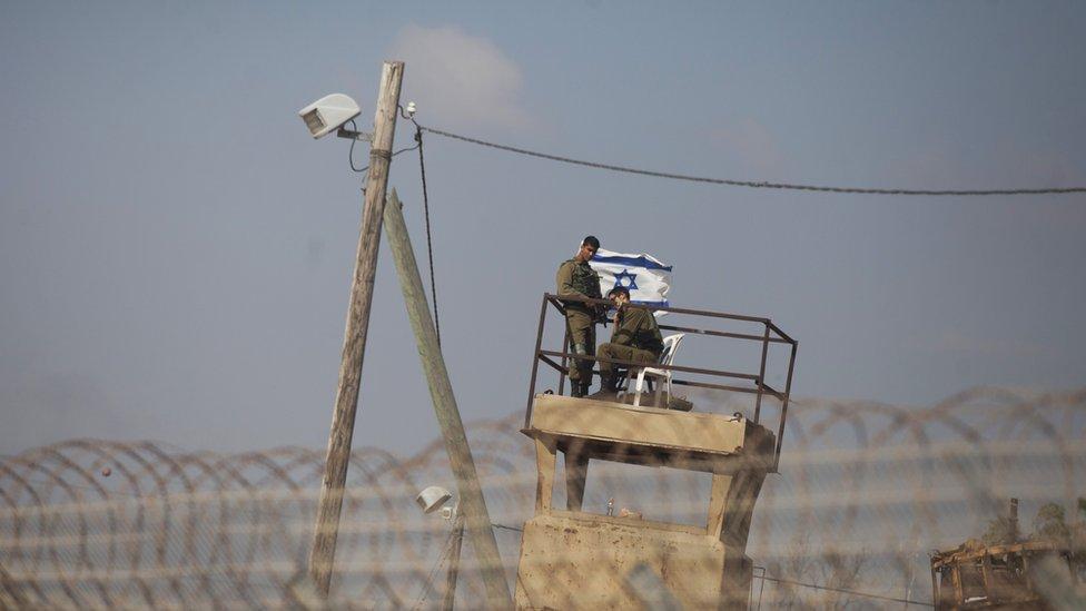 El despliegue militar en la zona fronteriza de la Franja de Gaza se incrementó en las últimas semanas.