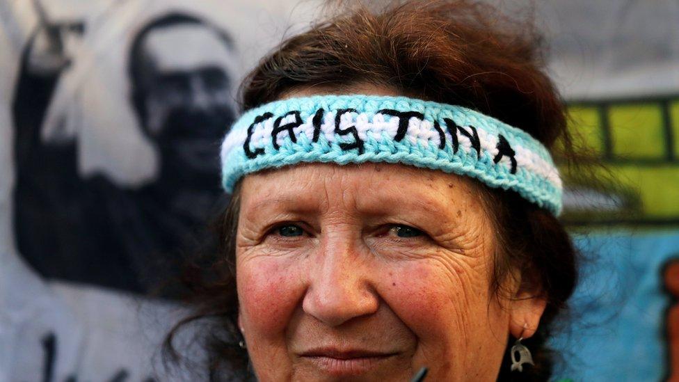 Seguidora de Cristina Kirchner.