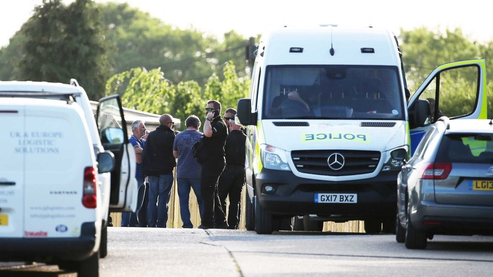 Sussex lorry alert: Driver released after guns seized