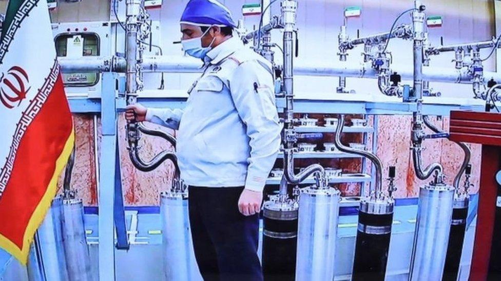 داخل منشأة نووية إيرانية