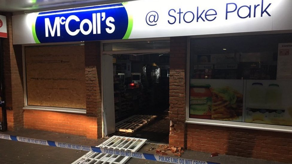 Ram-raids: Ipswich, Brantham and Combs Ford shops hit