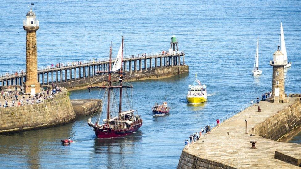 Whitby piers' £7.6m repair date set