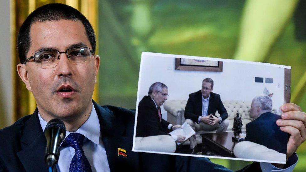 Denuncia del gobierno de Venezuela