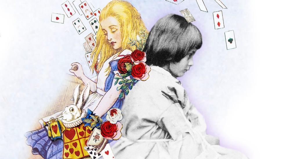 Alice Liddell y Alicia.