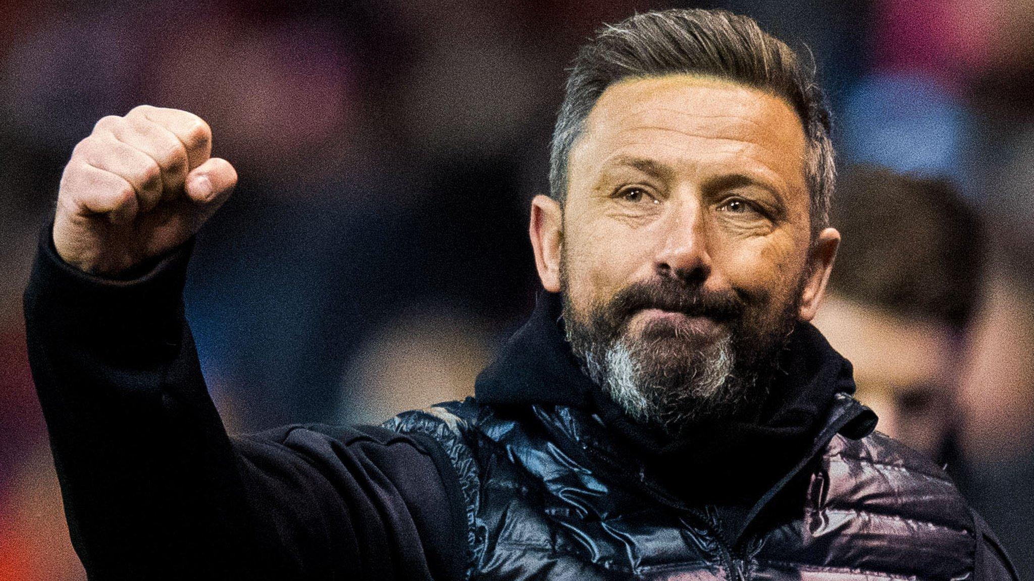Derek McInnes staying despite Scotland talk - Aberdeen vice-chairman