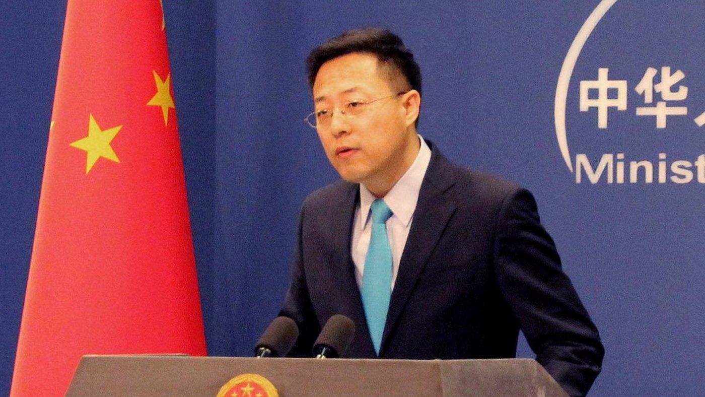 趙立堅去年開始擔任中國外交部發言人。
