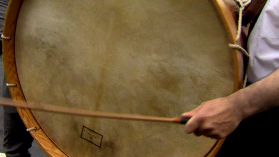 A Lambeg drum