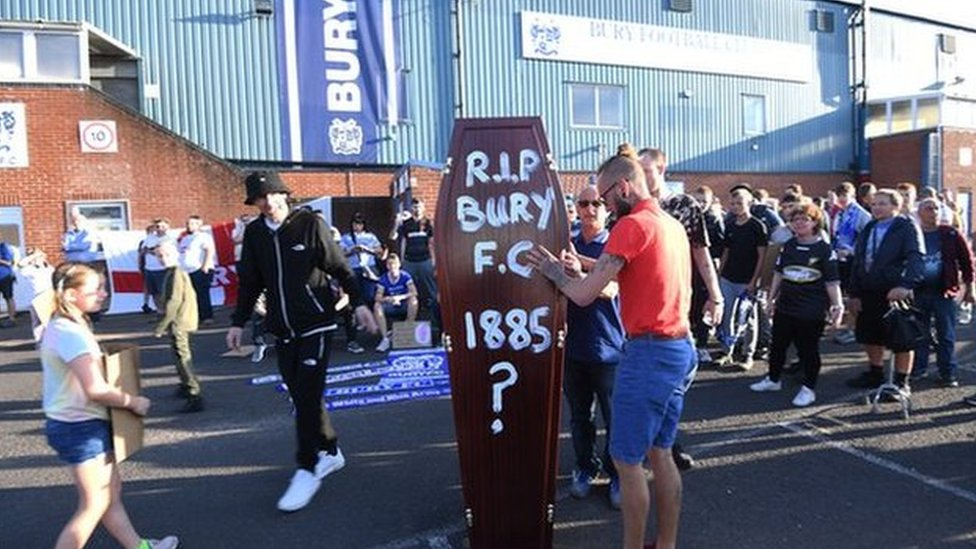 Bury Fc Report Of Fraud Investigated By Police Bbc News