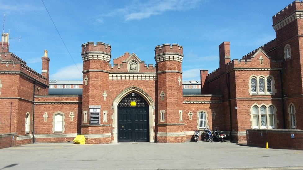 Cars set alight at Lincoln prison in suspected arson attacks