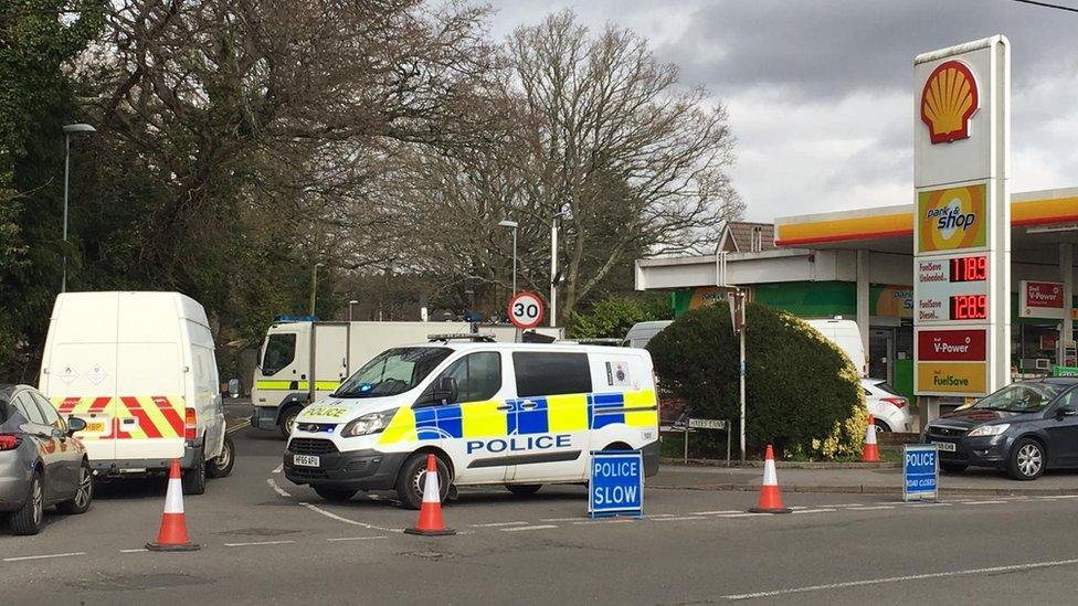 Man in court over Wimborne chemical substances find