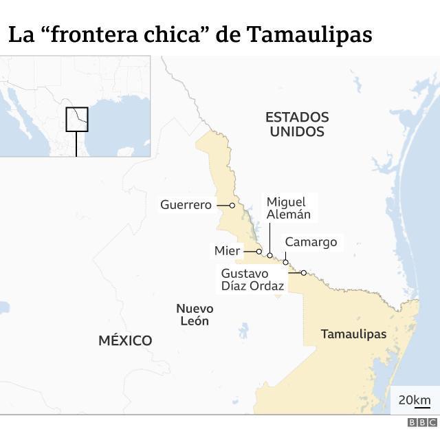 Mapa frontera chica