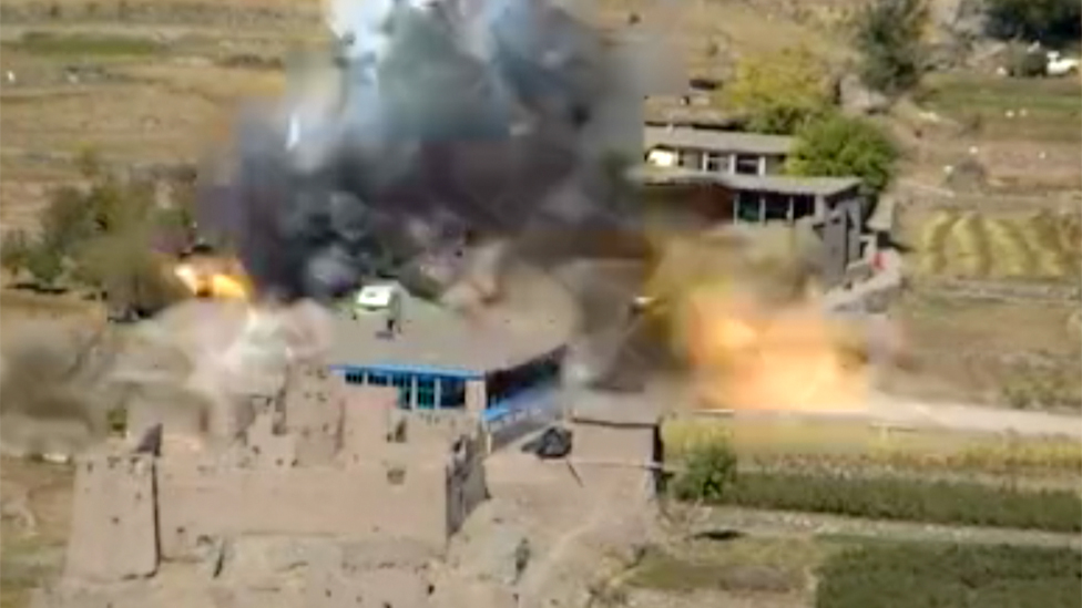 An IS attack on a government checkpoint in Logar
