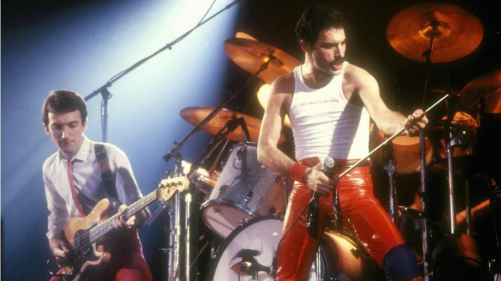 Freddie Mercury y Queen