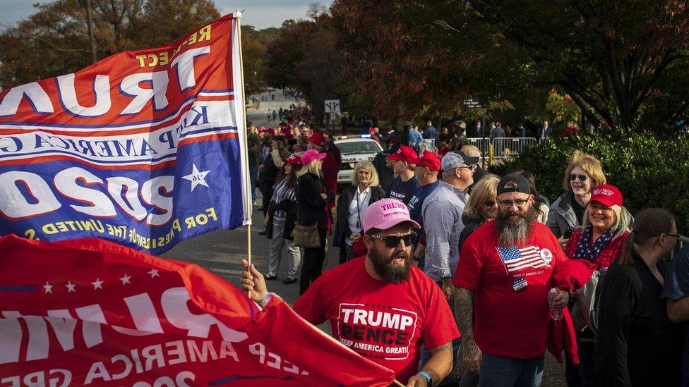 Tennessee Eyaleti'ndeki Cumhuriyetçi Parti destekçileri