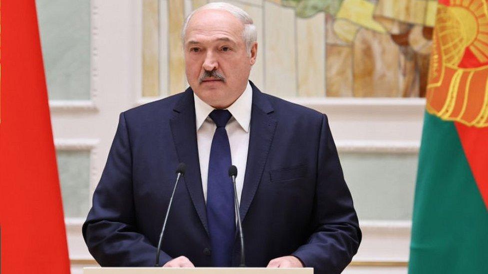 Alexander Lukashenko, 30 octobre 20