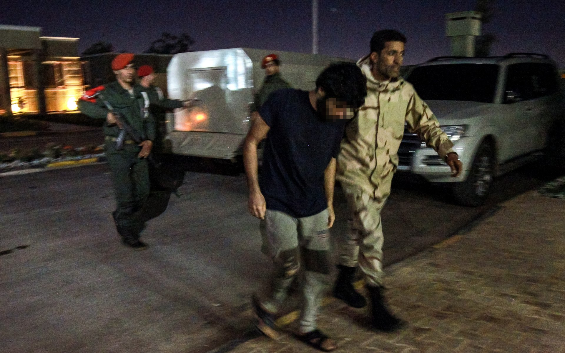 Alleged Syrian mercenary arrested by forces loyal to Libyan general Khalifa Haftar in Benghazi