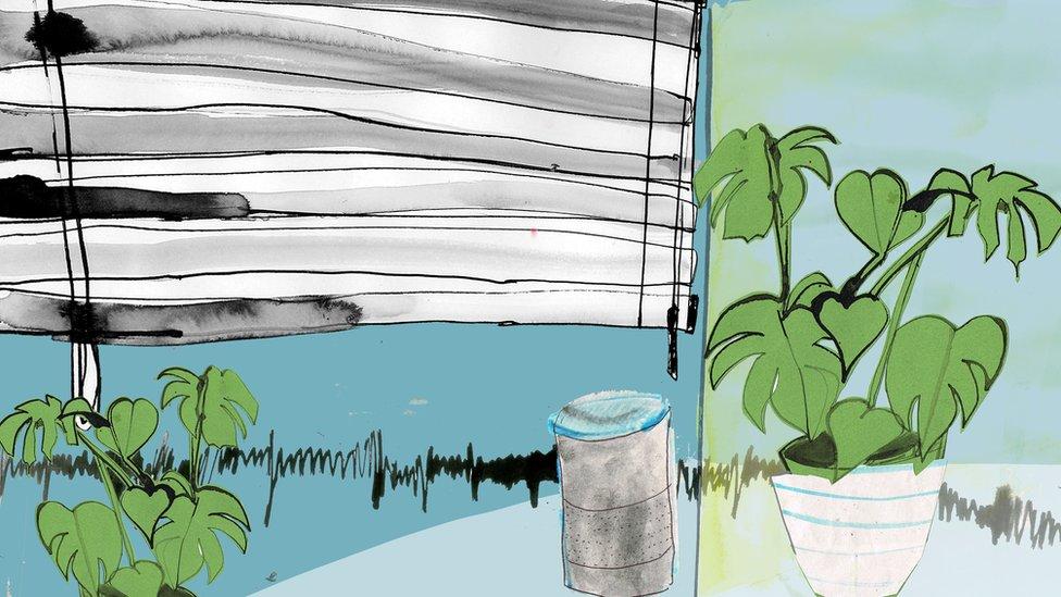 Smart speaker illustration