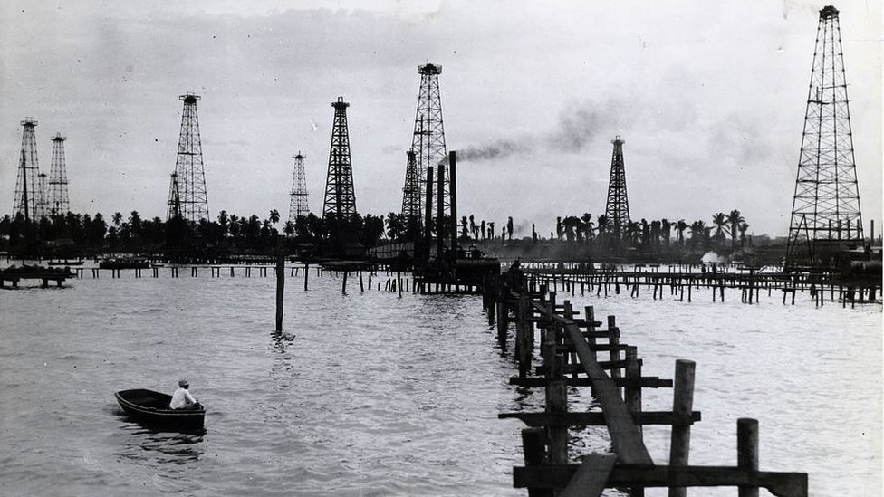 Torres petroleras de Maracaibo
