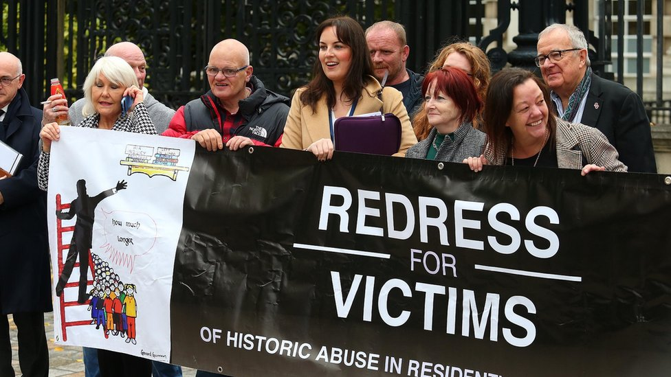 On Monday, judges ruled Stormont has the power to compensate institutional abuse victims