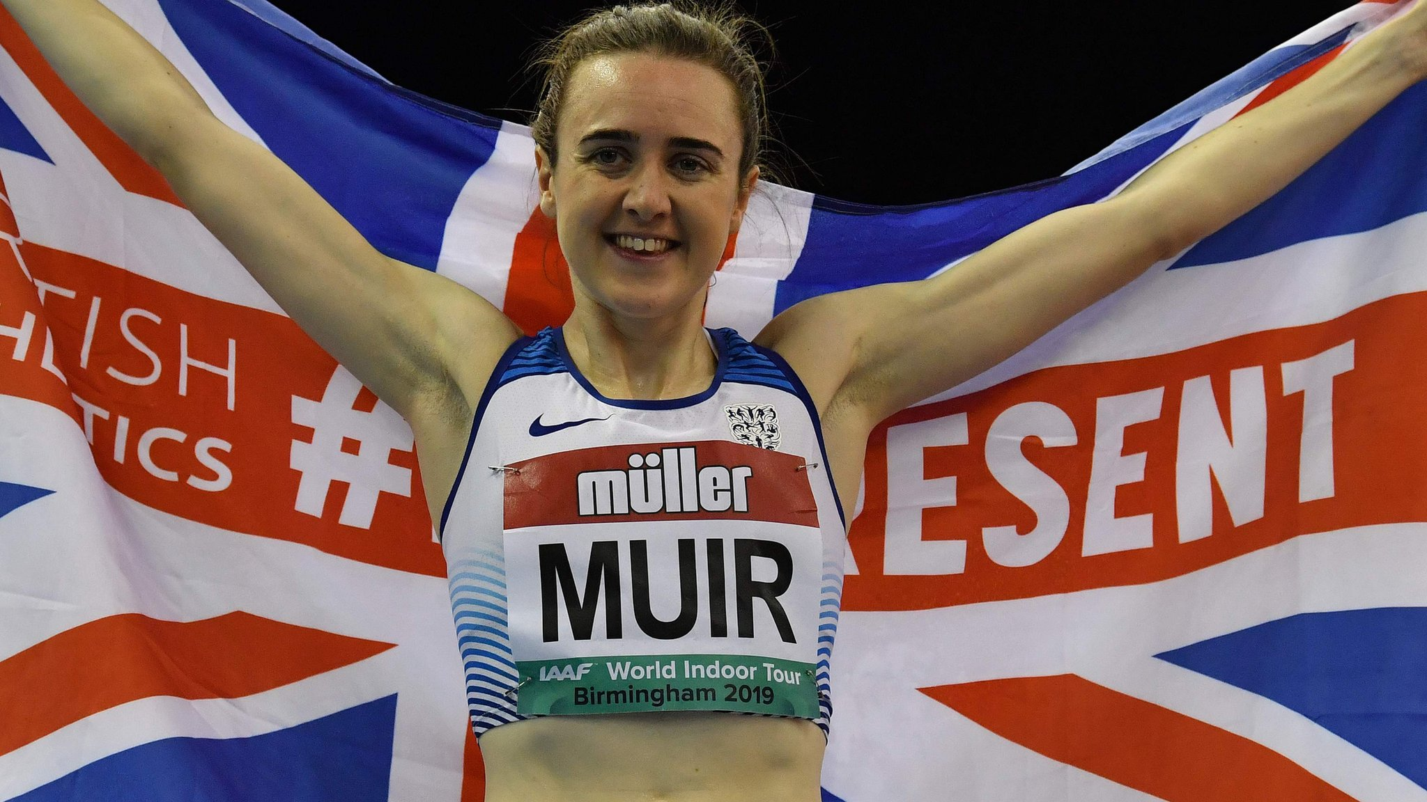 Muir breaks mile record by five seconds - video & report