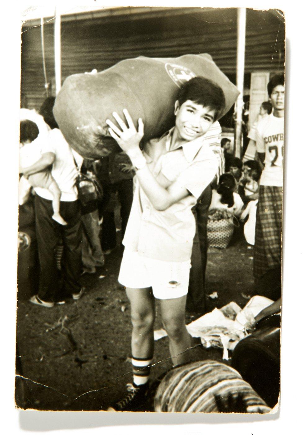 Monorit sa torbom.