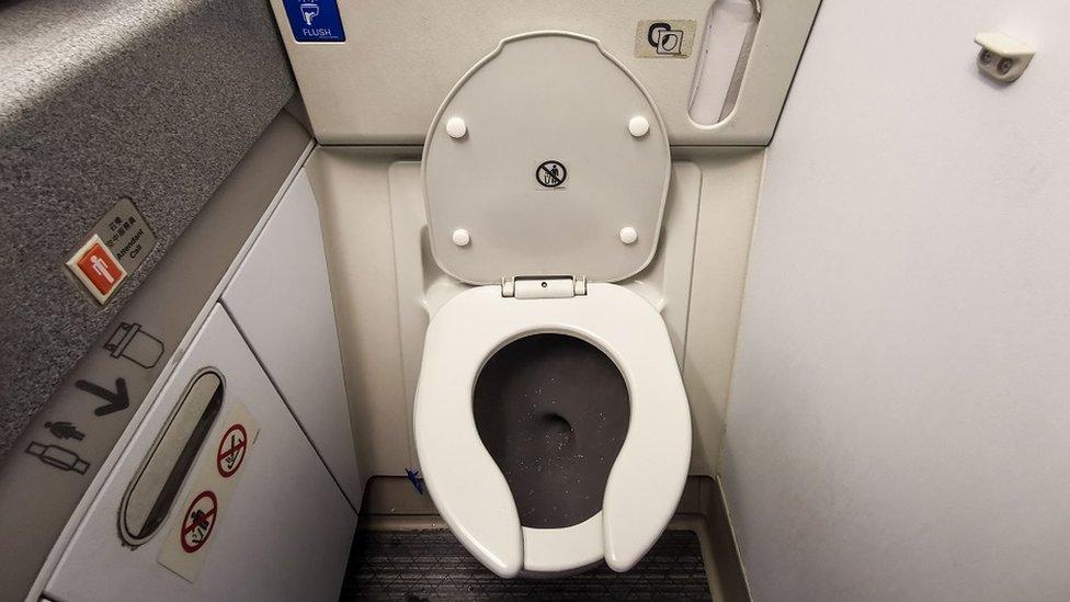 toalet u avionu