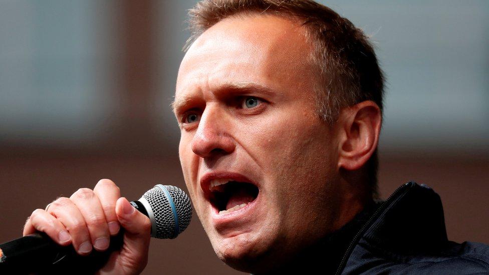 Rusia, Navalny