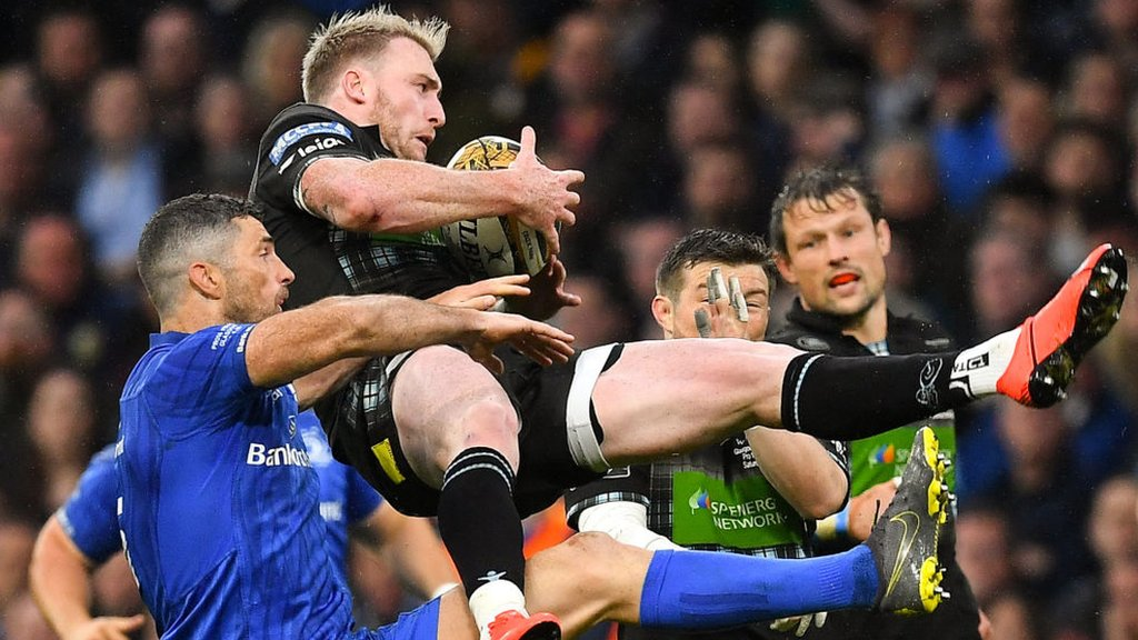 Pro 14: Dave Rennie 'will let officials decide' on Rob Kearney tackle on Stuart Hogg in final