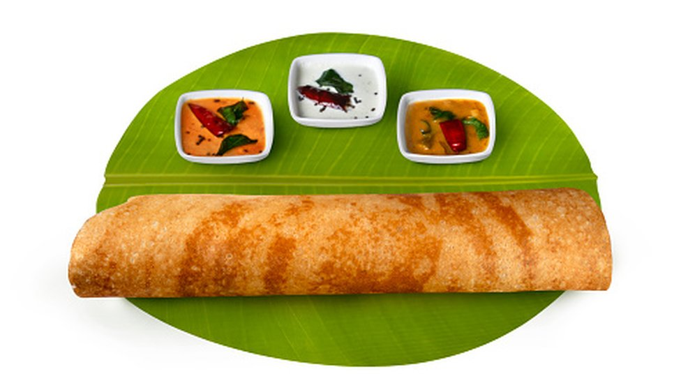 Dosa is a hugely popular south Indian breakfast dish - Getty Images