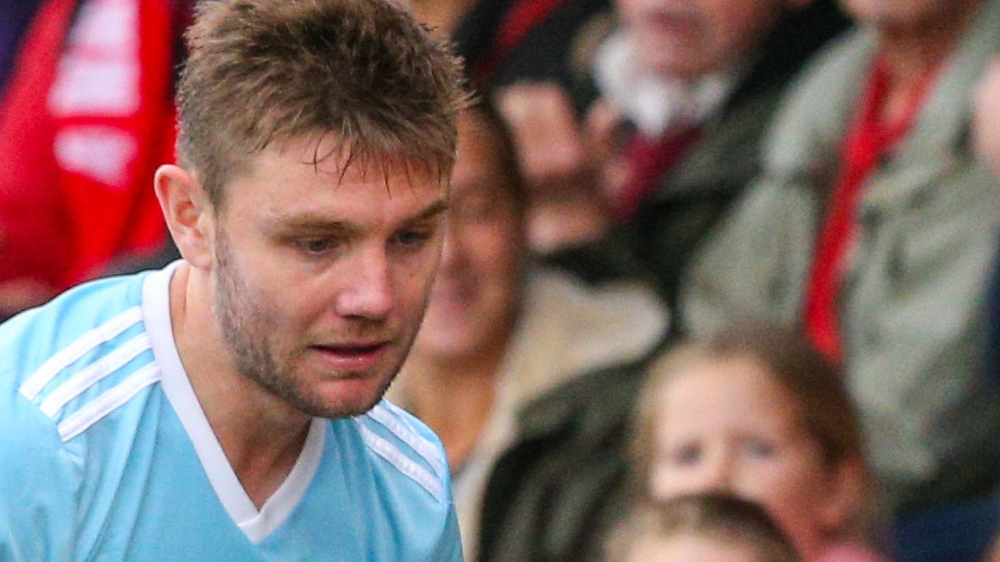 Sam Finley: Accrington midfielder charged by the FA with violent conduct