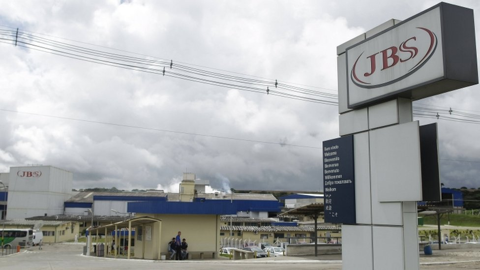The facilities of the meat group JBS Seara in the city of Lapa, in the state of Parana, Brazil, 21 March 2017