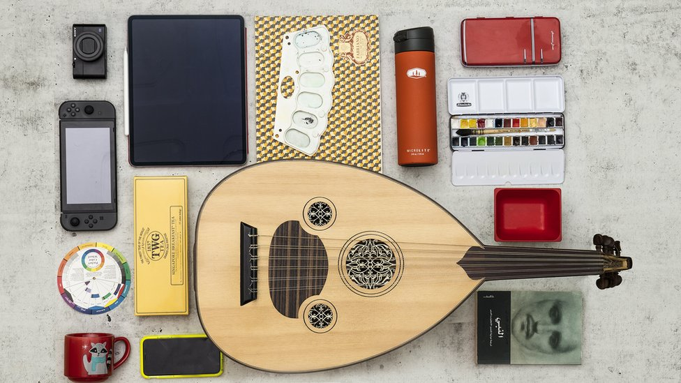 Lockdown essentials by Mohamad Chehimi, a Lebanese man living in Kuwait