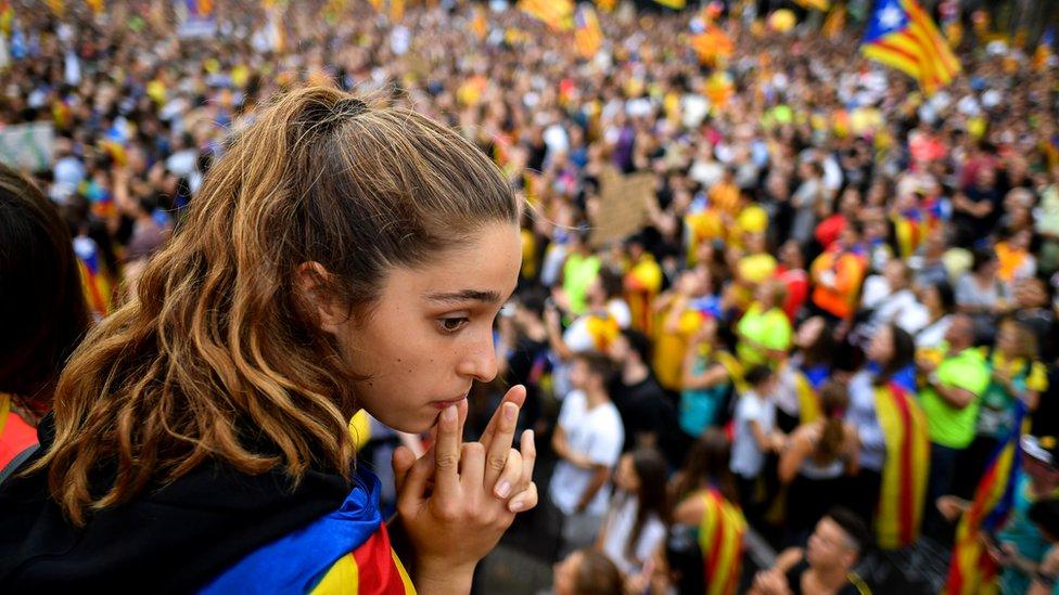 protest u kataloniji