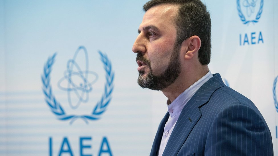 ممثل إيران كاظم غالب آبادي يقول إن بلاده تهدف إلى الحفاظ على الاتفاق