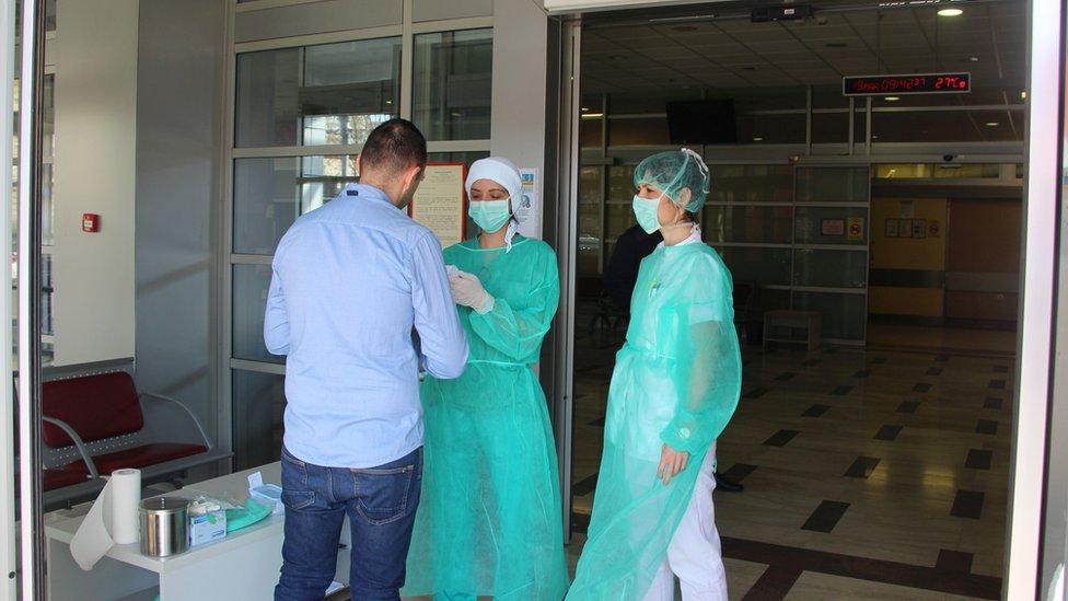 Ulaz u Klinički centar Vojvodine