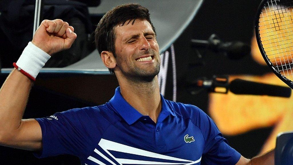 Djokovic starts record bid with easy victory